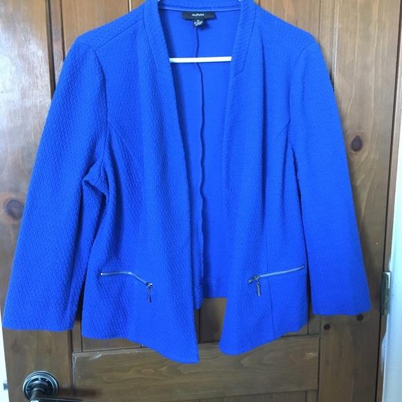 Alfani Jackets & Blazers - Alfani Blue Blazer Size 16